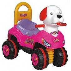 Pedalsız Köpek Araba