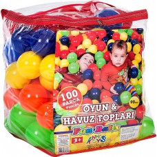 90 mm 100 Parça Çantalı Havuz Topu